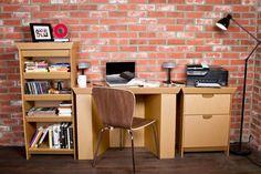Muebles de carton reciclable 1