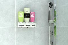 """Duschgelspender und Universalspender Tubotec ist ein Duschgelspender, Seifenspender, Zahncemespender und Spender für vieles mehr in Ihrem Badezimmer. Mit """"nie wieder bohre"""" lässt sich der Duschgelspender leicht in der Dusche, oder der Seifenspender und Zahncremespender leicht am Waschtisch montieren. Kein Umüllen von Seifen mehr, einfache und sparsame in der Handhabung. Design und Komfort in einem Gerät."""