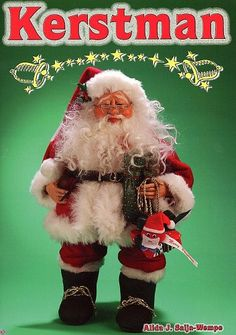 19000 Kerstman door Alida Saija-Wempe.