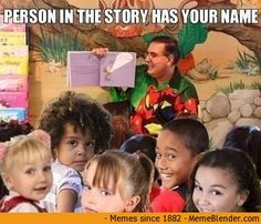 Your moment of fame in 1st grade