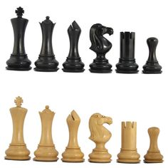 Check out the deal on MoW Ebony Chess Pieces - Vanguard Staunton at Your Move Chess & Games Modern Chess Set, Set Card Game, How To Play Chess, Play Therapy Techniques, Family Game Night, Family Games, Chess Games, Wood Lathe, Chess Pieces