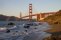 Baker Beach. My favorite SF beach. But be aware, the closer you get to the bridge the more you may see manly-parts.