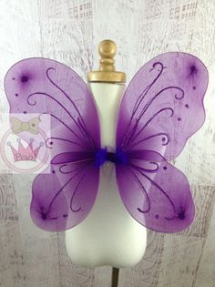 Purple Butterfly Wings  Halloween Costume  by PoshBowPrincess, $4.25