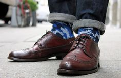 Modern - stylish socks in digi-camo styles and more. Best of all is that they are 96% cotton! #men #socks #fashion