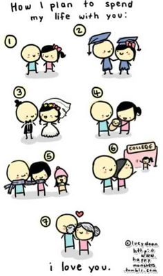 Steven and I have done steps 1 and 2. Can't wait to spend my life with my high school sweetheart :)