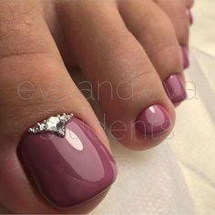 Дизайн ногтей на ногах. Идеи педикюра #19. фото