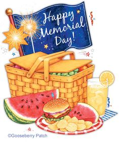 """Memorial Day---kick off summer...""""Fire up the grill, make potato salad and get out your white shoes for Memorial Day weekend"""" (Sara Ban Breathnach...SIMPLE ABUNDANCE)"""