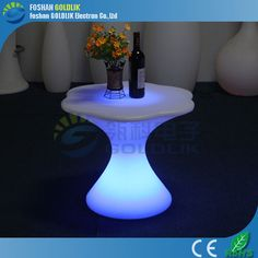 2015 LED nightclub tables for events hire www.goldlik.com