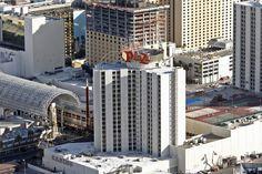 Zamboni on the roof? Must be the Las Vegas Plaza