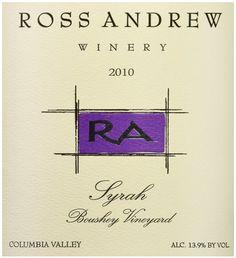2010 Ross Andrew Winery Syrah Boushey Vineyards