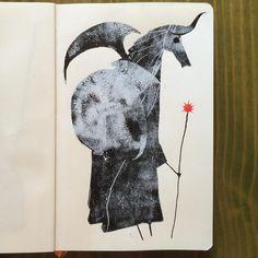 Minotaur of the Sun. Jeffrey Alan Love