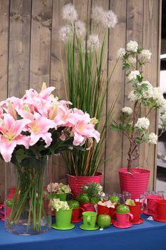 Hochzeits & Sommergestecke aus dem Abholmarkt Vosteen in Stuhr - www.vosteen.de