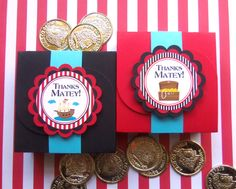 Pirate Party Handmade Favor Boxes DIY Kit 8 by kppboutique on Etsy, $12.00