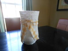 Check out this item in my Etsy shop https://www.etsy.com/listing/286445871/twine-flower-vase