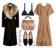 """""""Fall Style With The RealReal: Contest Entry"""" by annet-kalyta ❤ liked on Polyvore featuring Jil Sander and Chloé"""