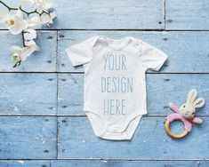 7dcb5bd9a Bella Canvas 134B White Baby Romper Suit Mockup, One Piece Mock Up, One  Piece Flat Lay, Body Suit Mock Up, Flat Lay, Baby Boy Mock Up, Blue
