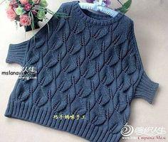 Best 12 Women's Hand Knit Boatneck Sweater – SkillOfKing. Knitwear Fashion, Knit Fashion, Hand Knitted Sweaters, Cool Sweaters, Lace Knitting Patterns, Hand Knitting, Crochet Clothes, Pulls, Knit Crochet