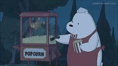 we bare bears Bear Cartoon, Cute Cartoon, Cartoon Art, Ice Bear We Bare Bears, We Bear, We Bare Bears Wallpapers, Cute Wallpapers, Bear Tumblr, Bear Gif