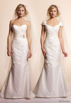 1000 images about wedding cap sleeves add on on pinterest for Adding sleeves to a wedding dress