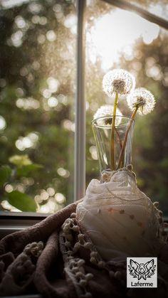 Dandelion fairy clocks