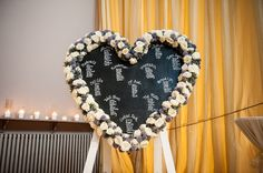 Elemental Photography / Mansfield Traquair / Black Board table Plan / Heart Shape Table Plan / Roses / thistle