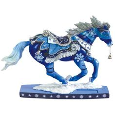 Horse of a Different Color Winter Snowflakes Unicorn Horse, Pony Horse, Unicorn Art, All The Pretty Horses, Beautiful Horses, Werewolf Art, Horse Sculpture, Animal Sculptures, Trail Of Tears