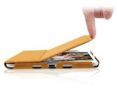 Ultra tenké kožené púzdro pre iPad mini 1, 2, 3 (9)