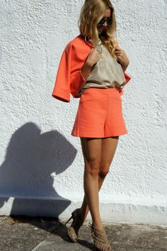 fan of coral for upcoming spring/summer look