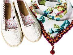#Summer Basics #crochet #espadrilles - Blog #Benetton
