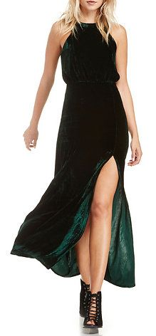 Kelly Velvet Maxi Dress