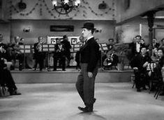 gif Gifmovie film Black and White movie vintage Charlie Chaplin moonwalk