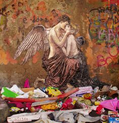 """""""Cupid and Psyche"""", Paul Thumann- by Zilda"""