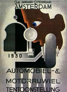 1930 poster // By A.M. Cassandre