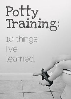 Practical, realistic potty training tips and what to expect when potty training #pottytraining #pottytrainingtips #toddler