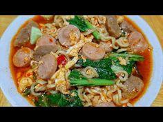 CARA MEMBUAT SEBLAK MIE INSTAN YANG ENAK & MUDAH - YouTube Japchae, Thai Red Curry, Brownies, Geek, Ethnic Recipes, Food, Cake Brownies, Essen, Geeks