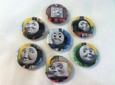 Thomas the Train (Thomas the Tank Engine) and Friends magnet set