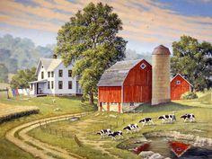 Goin' Home by John Sloan. I love Americana art!