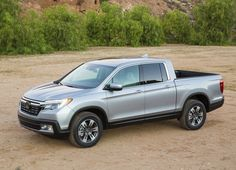 The 2017 Honda Ridgeline debuts at the 2016 Detroit Auto Show, and will go on sale later this year in the burgeoning midsize truck segment. Pick Up, Honda Ridgeline 2017, Detroit, Honda Motors, New Honda, Toyota Cars, Toyota Tacoma, Ford Bronco, Car And Driver