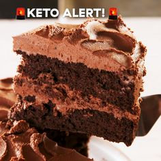 Just because a dessert doesn't gluten or sugar, doesn't mean it can't be good. This chocolate layer cake is rich, decadent and fudgy. And the chocolately cream cheese frosting makes it one of our new favorite Keto desserts—ever! Get the recipe at Delish.com. #delish #easy #recipe #keto #cake #dessert #chocolate #video