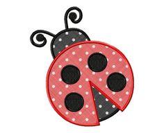 Ladybug Beetle Appliques Machine