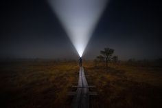 The Swamp Man Beams Up... by Jari Johnsson on 500px