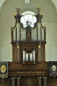 Van Peteghem-orgel uit 1818 in de Sint-Niklaaskerk te Aaigem