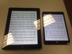 Chromatik app for reading, learning, and collaborating music, shown on the regular iPad and theiPad Mini Elementary Music, Ipads, Music Education, Educational Technology, Fun Ideas, Ipad Mini, Sheet Music, Action, App
