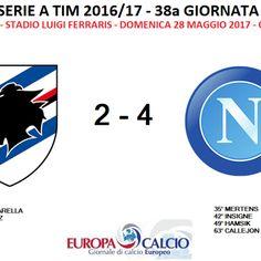 Sampdoria – Napoli 2-4: cronaca, tabellino e interviste ai tecnici