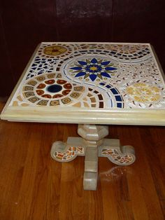 Square Mosaic Table, via Flickr.