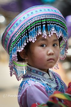 Little Girl in Guangxi, China