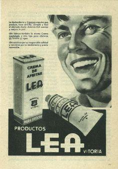 Uno de los primeros anuncios de LEA en la decada de los años sesenta