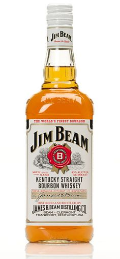 Jim Beam. Probably the first liquor I ever drank. Still drinking it, 14 years later. Gosh, I'm old.  :(