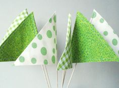 St Patricks Day Decorations - party pennants