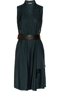 Maiyet | Belted jacquard-detailed silk wrap dress | NET-A-PORTER.COM